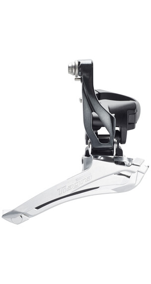 Shimano Tiagra FD-4700 Umwerfer 2x10-fach Schelle Down-Pull grau
